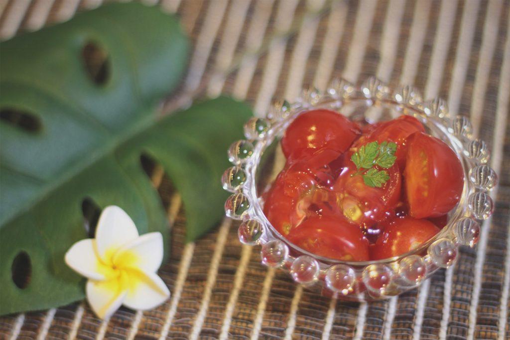 バーベキュー,前菜,トマト,