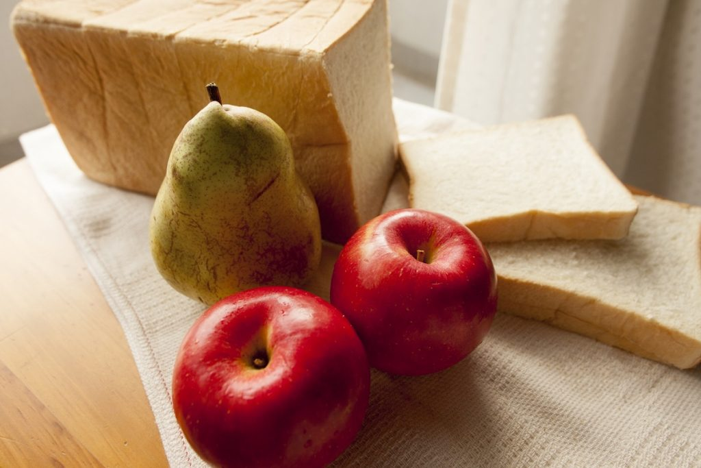 梨,りんご,洋梨,