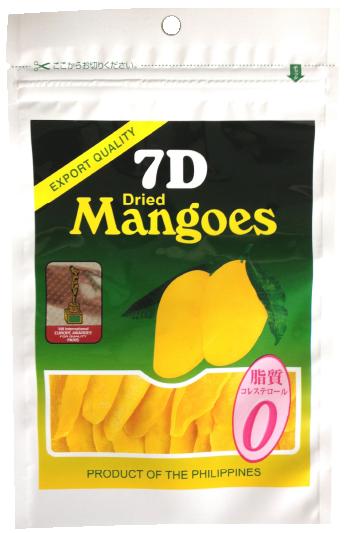 日本専用パッケージのドライマンゴー